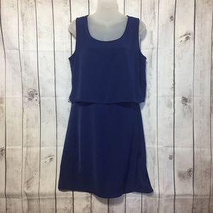 Athleta Cobalt Blue Getaway Dress M Sheath Pockets